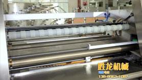 桶装湿巾灌装生产线